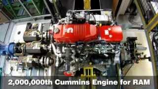 getlinkyoutube.com-Cummins Builds Two-Millionth Pickup Engine for Ram HD Trucks