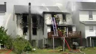 getlinkyoutube.com-Porter Township House Fire Video  Part One 7-9-2010.wmv