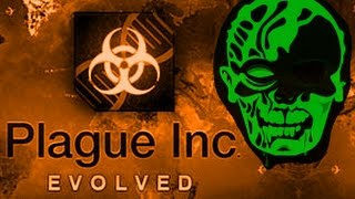 getlinkyoutube.com-Mega Brutal Zombie Necroa Virus Plague Inc: Evolved Gameplay