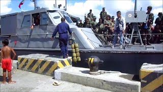 getlinkyoutube.com-PNP ~ Philippine National Police at the Port of Iloilo City, Philippines