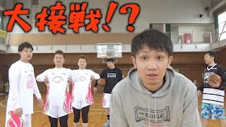 getlinkyoutube.com-【バスケ】体育館でバチバチ3on3【ニセJUNJUN】