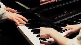 getlinkyoutube.com-2台ピアノ「残酷な天使のテーゼ」 H ZETT M × まらしぃ