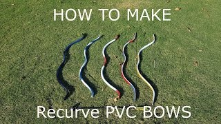 getlinkyoutube.com-How to Make Recurve PVC Bows