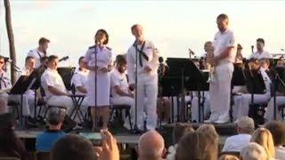 Angkatan Laut AS Nyanyikan Lagu Akad Payung Teduh Saat Latihan Maritim Internasional Terbesar RIMPAC