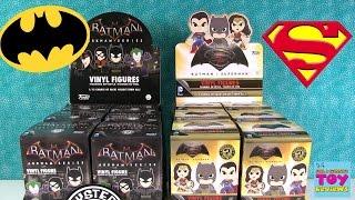 getlinkyoutube.com-Batman vs Superman Arkham Funko Mystery Minis Full Case Unboxing | PSToyReviews