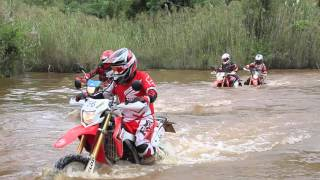 getlinkyoutube.com-CRF250L ลุยเขากระโจม Enduro Trip to Ratchaburi Thailand