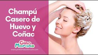 getlinkyoutube.com-Champú casero de huevo y coñac (Gina Morano)