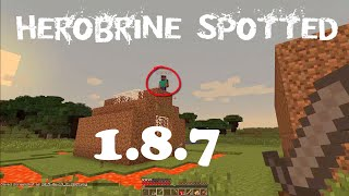 getlinkyoutube.com-REAL HEROBRINE SIGHTING WITH 100% PROOF!! 1.10/2016