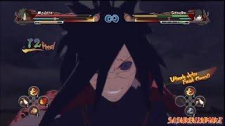 getlinkyoutube.com-Naruto Ultimate Ninja Storm Revolution - Madara (Susanoo) Vs EMS Sasuke