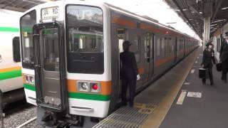 getlinkyoutube.com-【FHD】熱海駅4番線 東海道線下り列車(JR東海)車掌さんの発車扱い
