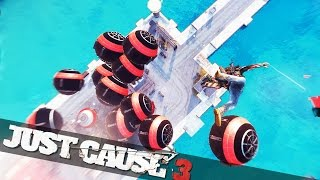 getlinkyoutube.com-JUST CAUSE 3 EXPLOSIVE BALLS! :: Just Cause 3 Mods Showcase!