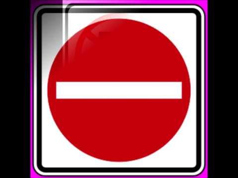 Señales de tránsito: cancion educativa con imagenes