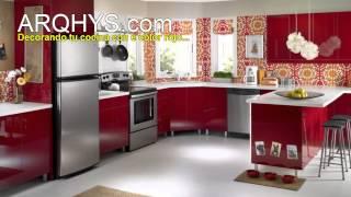 getlinkyoutube.com-¿Cómo decorar una cocina? Iluminación, decoración, colores, reformas, etc.