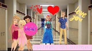 getlinkyoutube.com-Barbie High School Life Ep 5: Boyfriend and Girlfriend!