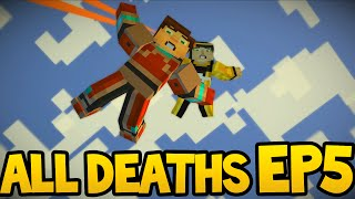 Minecraft Story Mode - ALL DEATH SCENES! - Episode 5