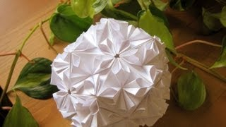 getlinkyoutube.com-Origami ❀ Loop ❀ Kusudama