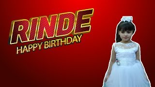 getlinkyoutube.com-HAPPY BIRTHDAY RINDE PELİSTANK TV