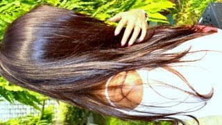 getlinkyoutube.com-How to grow hair fast long Hair Care Routine Hair Oiling,Treat Dry Damaged Hair,prevent grey hair
