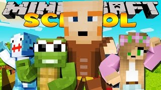 Minecraft School : GIANTS ATTACK MY CASTLE W/ Sharky Adventures & TT