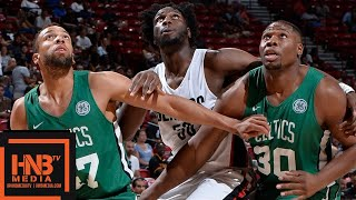 Boston Celtics vs Portland Trail Blazers Full Game Highlights / July 15 / 2018 NBA Summer League