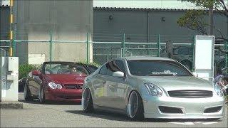 getlinkyoutube.com-【入場編】 wekfest japan USDM シャコタン 車高短 Lowered Lowcar exhaust