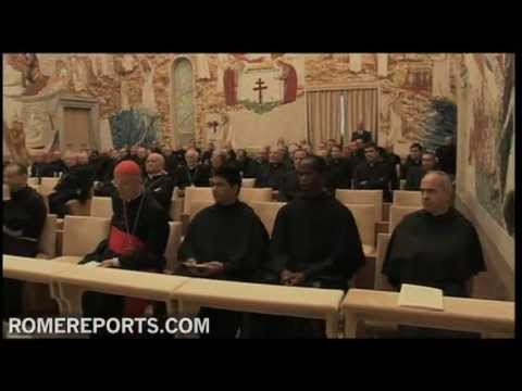 Pope attends this year's first sermon of Advent