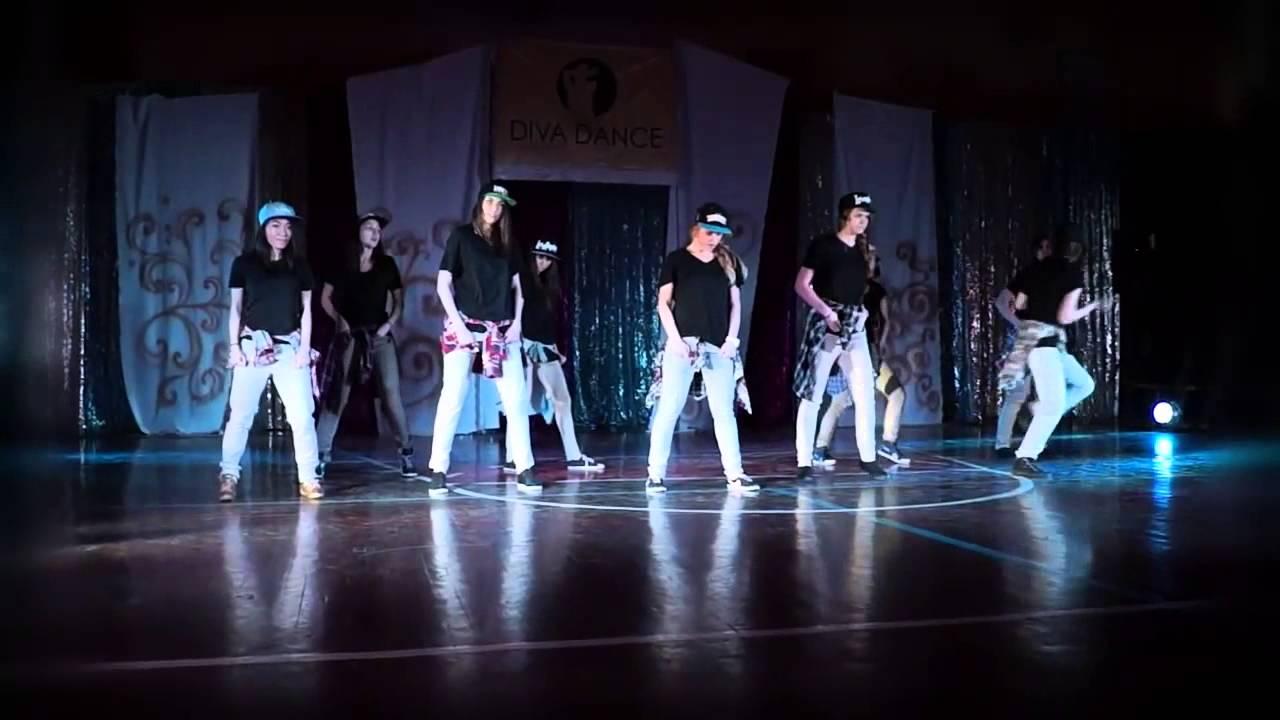 Новогодний бал 23.12.2012 года. Видео танца Хип-хоп.