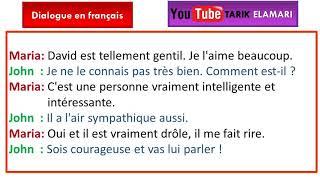 Dialogue en français Niveau A1 01