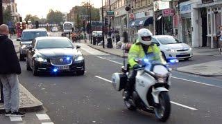 getlinkyoutube.com-Metropolitan Police SEG Escorting Prime Minister David Cameron