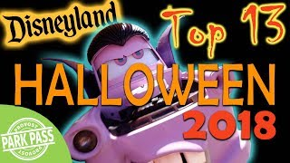 Top 13 Must Do's at Disneyland's Halloween Time