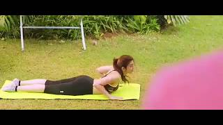 Pranitha Hot Yoga Video