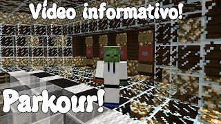 getlinkyoutube.com-Minecraft MAPA PARKOUR INFORMATIVO! X'D