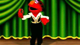 getlinkyoutube.com-Sesame Street: Elmo's World: Dancing, Music & Books! - Clip