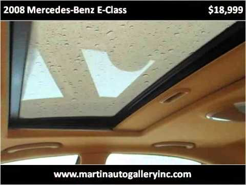 2008 Mercedes-Benz E-Class Used Cars Pittsburg PA