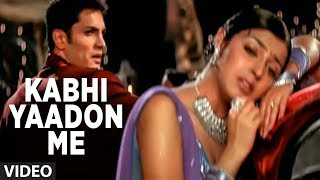 getlinkyoutube.com-Kabhi Yaadon Me Aau Kabhi Khwabon Mein Aau - Full Video Song by Abhijeet (Tere Bina)