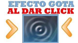 EFECTO GOTA DE AGUA AL CURSOR DEL MOUSE ᴴᴰ | Fácil & En 2 Minutos Para Cualquier Windows | 2017