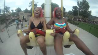 *BEST* Expression on Wisconsin Dells thrill ride.