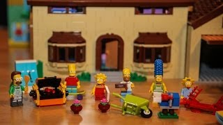 getlinkyoutube.com-Test LEGO The Simpsons House (Set 71006 LEGO Simpsons)