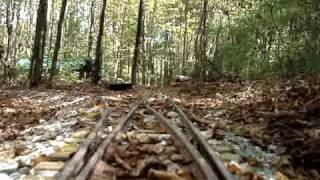 getlinkyoutube.com-Backyard Railroad Coupler Cam Westbound