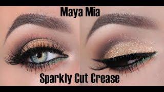 getlinkyoutube.com-Glitter  Cut Crease Tutorial
