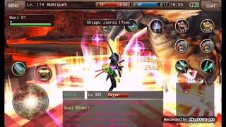 Iruna Online (Samurai) RMarques VS Kagan + equip.