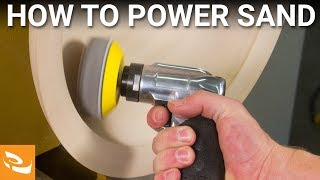 getlinkyoutube.com-Woodturning Tips - How to Power Sand