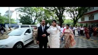 getlinkyoutube.com-Kerala Christian Wedding Highlights Geethu+Romel Sargam Wedding Studio 2015