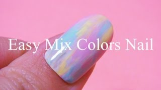 Easy Mix Colors Nail
