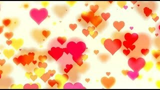 getlinkyoutube.com-Romantic love hearts blured - HD animated background #42