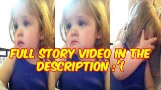 Little Girl Listening to her Dead Mother's Voice | The Most #Emotional Video Ever
