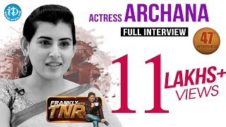getlinkyoutube.com-Actress Archana Exclusive Interview || Frankly With TNR #47 || Talking Movies with iDream #259