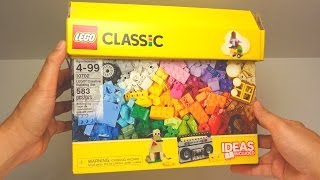 getlinkyoutube.com-Lego Classic 2016 Unboxing 10702 - Creative Building Set 583 pcs