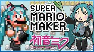 getlinkyoutube.com-Hatsune Miku: Ievan Polkka in Super Mario Maker