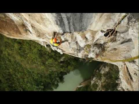 Climbing video - Voie du Milieu at Getu, China